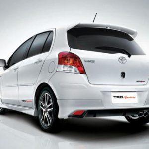 Bodykit Toyota Yaris TRD 2008 – PU (Grade B)