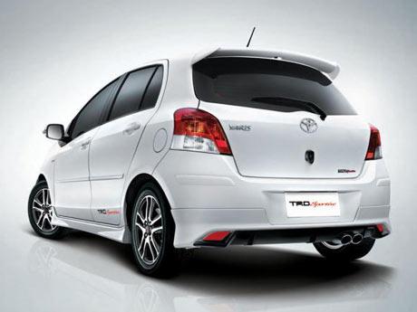 Bodykit Toyota Yaris TRD 2008