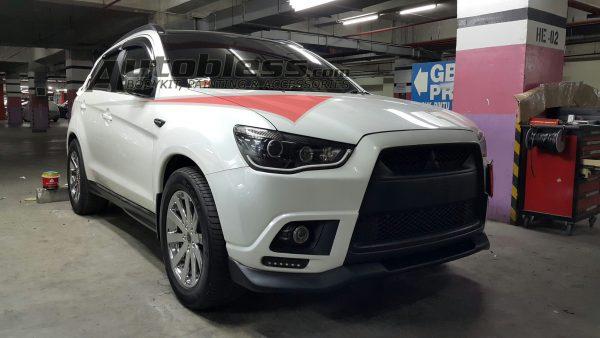 Bodykit Mitsubishi Outlander Sport DAMD – Plastic ABS (Grade A)