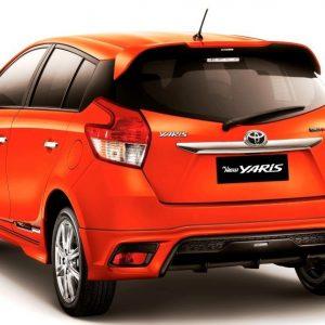 Wing Spoiler Toyota Yaris TRD 2014 – Plastik ABS (ORI)