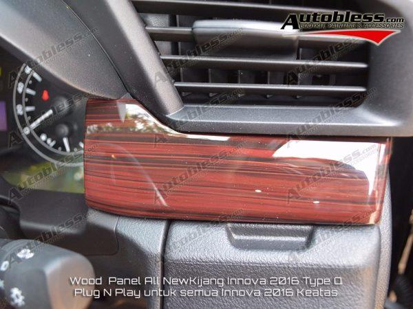 Wood Panel Toyota Grand Innova 2016