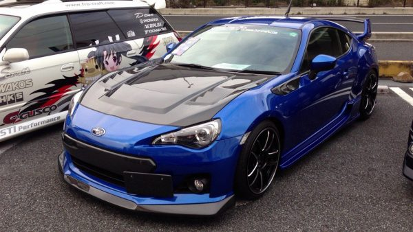 Engine Hood Carbon Toyota FT86 Varis (Grade S) Import Taiwan