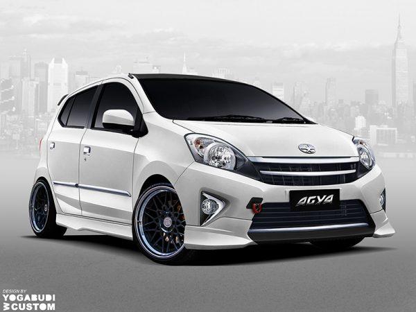 Bodykit Toyota Agya TRD