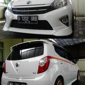 Bodykit Toyota Agya TRD – Plastic ABS (Grade B)
