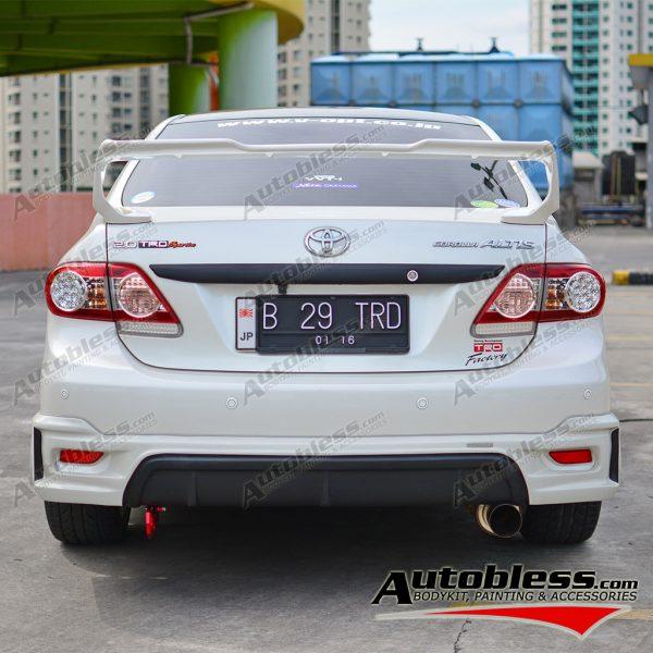 Bodykit Toyota Altis Grand TRD 2011 – Plastic ABS (Grade C)
