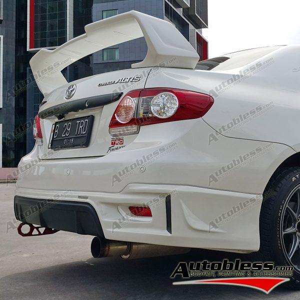 Wing Spoiler Toyota Grand Altis TRD 2011 – FRP