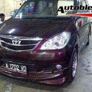 Bodykit Toyota Avanza Airmaster (VVT-i) – Plastic ABS (Grade C)
