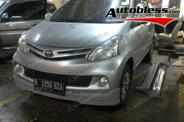 Bodykit Toyota All New Avanza R1 – FRP (Grade B)