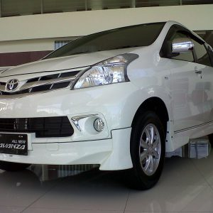 Bodykit Toyota All New Avanza TOMS – Plastic ABS (Grade C)