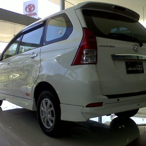 Bodykit Toyota All New Avanza TOMS – FRP (Grade B)