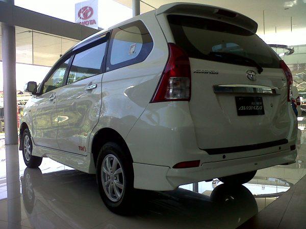 Bodykit Toyota All New Avanza TOMS – Plastic ABS (Grade C)