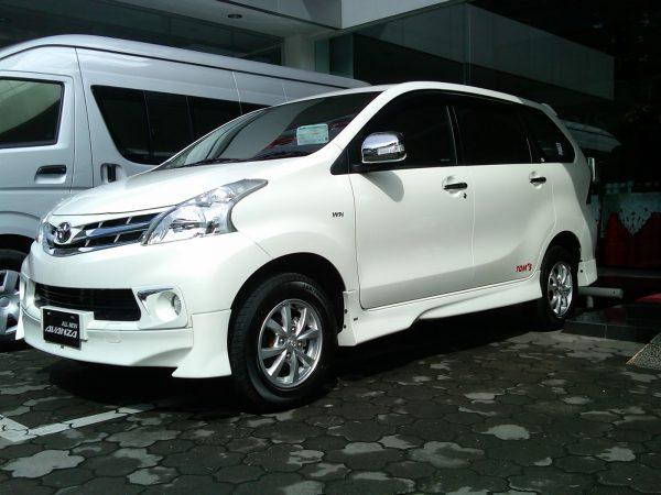 Bodykit Toyota All New Avanza TOMS – FRP (Grade B)