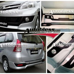 Bodykit Toyota All New Avanza TRD – Plastic ABS (Grade B)