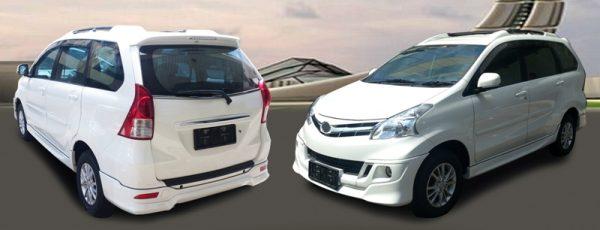 Bodykit Toyota All New Avanza TRD – Plastic ABS (Grade B)