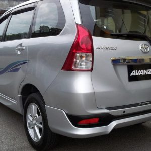 Bodykit Toyota All New Avanza TRD – Plastic ABS (Grade C)