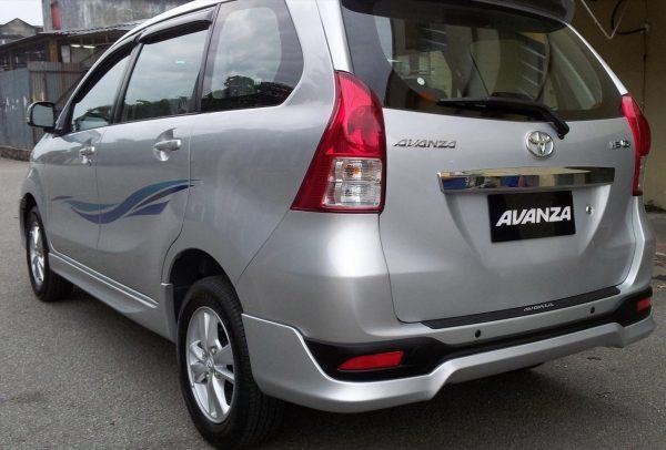 Bodykit Toyota All New Avanza TRD – Plastic ABS (Grade C)