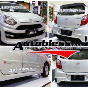 Bodykit Daihatsu Ayla M-Sporty – Plastic ABS (Grade B)