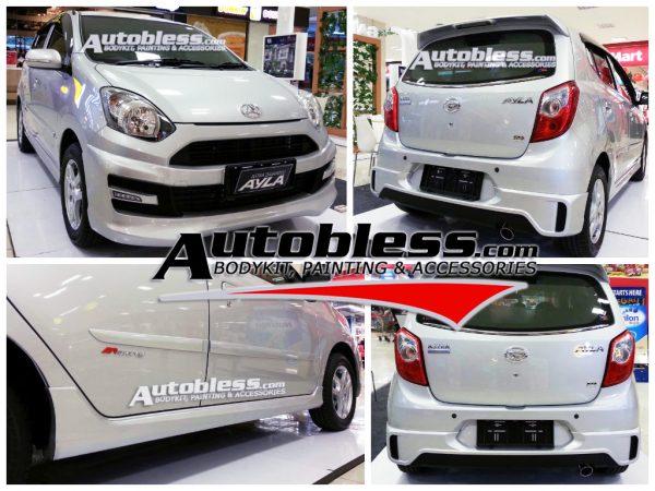 Bodykit Daihatsu Ayla M-Sporty – Plastic ABS (Grade C)