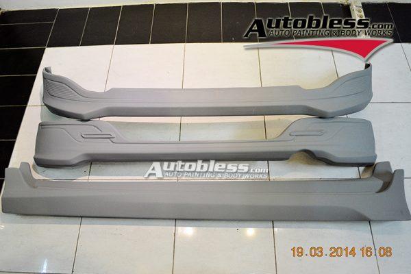 Bodykit Daihatsu Ayla X-Elegant – Plastic ABS (Grade C)