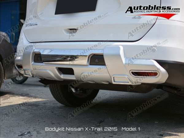 Bodykit Nissan X-Trail 2015 V.1 – Plastic ABS (Grade A) Import