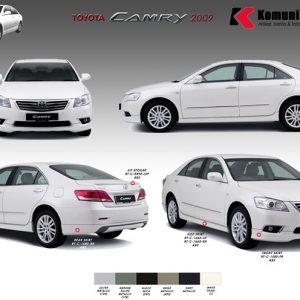 Bodykit Toyota Camry TRD 2009-2012 – Plastic ABS (Grade C)