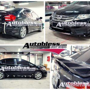 Bodykit Honda City Modulo 2012 -2013 – Plastik ABS (Grade C)