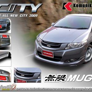 Bodykit Honda City Mugen 2009 -2011 – Plastik ABS (Grade C)