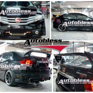 Bodykit Honda City Mugen RR 2009 -2013 – FRP