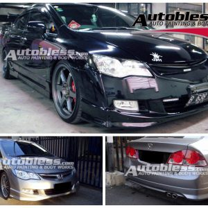 Bodykit Honda Civic Modulo 2006-2009 – Plastic ABS (Grade C)