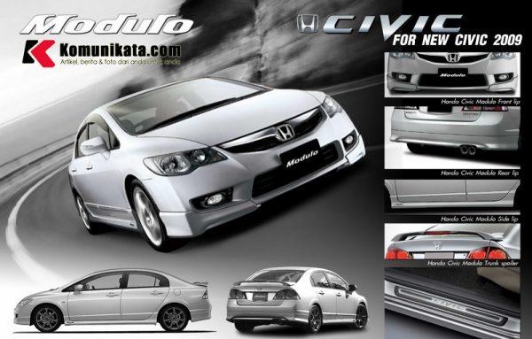 Bodykit Honda Civic Modulo 2010-2012 – Plastic ABS (Grade C)