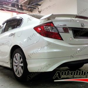 Bodykit Honda Civic Modulo 2012 – Plastic PP Injection TAIWAN (Grade S)