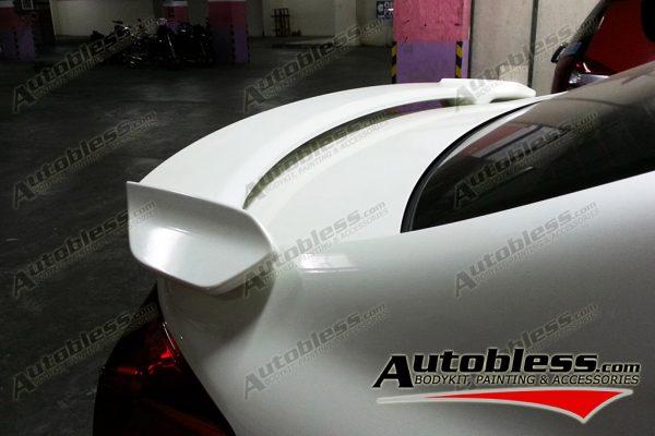 Wing Spoiler Honda Civic FB Modulo 2012 + Lamp – Plastic ABS (Grade S) Import Taiwan