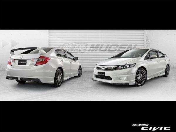 Bodykit Honda Civic Mugen 2012 – Plastic ABS (Grade A) Import Malaysia