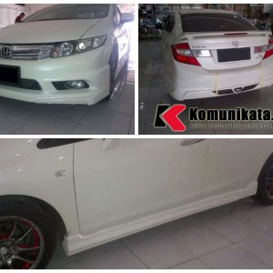 Bodykit Honda Civic Mugen VS 2012 – Plastic ABS (Grade B)