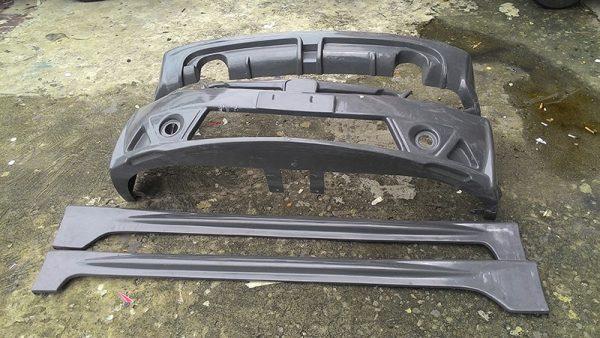 Bodykit Honda Civic FD Mugen RR 2006-2011 – Plastic ABS (Grade B)