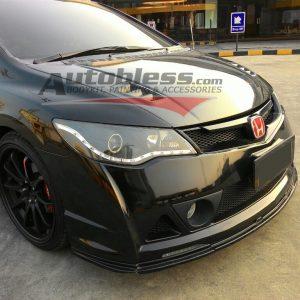 Bodykit Honda Civic FD Mugen RR – Plastic PP (Grade S) Import Taiwan