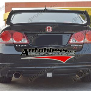 Bodykit Honda Civic FD Type MR – Plastic PP (Grade S) Import Taiwan