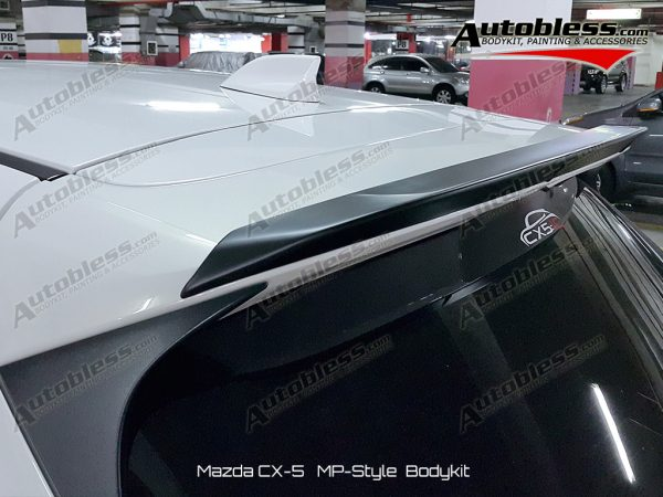Wing Extension Mazda CX5 MP Style – FRP