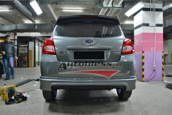 Bodykit Datsun Go Plus VS (3 Baris) – Plastic ABS (Grade B)