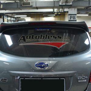 Wing Spoiler Datsun Go Plus – Plastic ABS (Grade A)