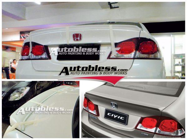 Ducktail Honda Civic FD1 Modulo – FRP