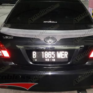 Ducktail Spoiler Toyota Vios 2008-2013 TRD – FRP