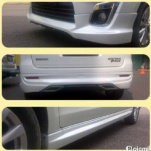 Bodykit Suzuki Ertiga Access – Plastic ABS (Grade B)