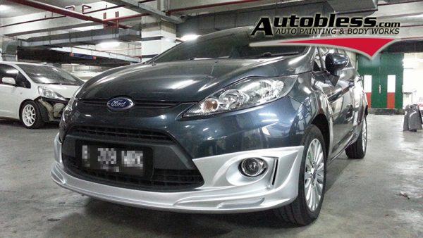 Bodykit Ford Fiesta G-Speed 2010-2013 – Plastic ABS (Grade B)