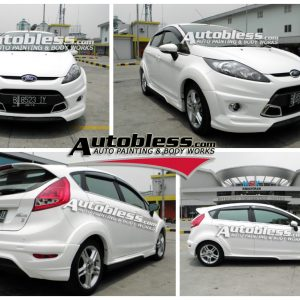 Bodykit Ford Fiesta Ideo 2010-2013 – Plastic ABS Import Thailand (Grade A)