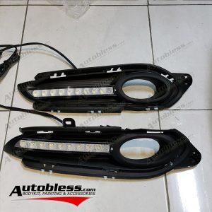 Cover Foglamp Honda HR-V + LED DRL