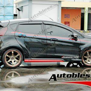 Bodykit Ford Fiesta Ideo 2010-2013 – Plastic ABS (Grade C)