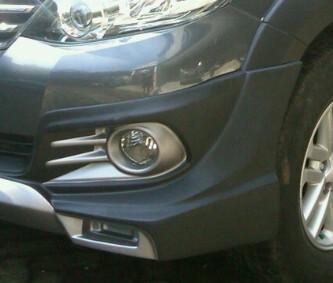 Bodykit Toyota Grand Fortuner TRD Thai Style – Plastic ABS (Grade B)