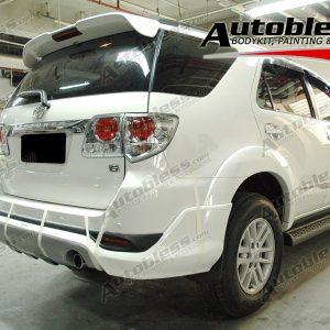 Bodykit Toyota Grand Fortuner TRD – Plastic ABS (Grade B)