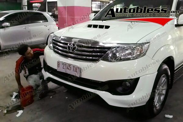 Bodykit Toyota Grand Fortuner TRD – Plastic ABS (Grade C)